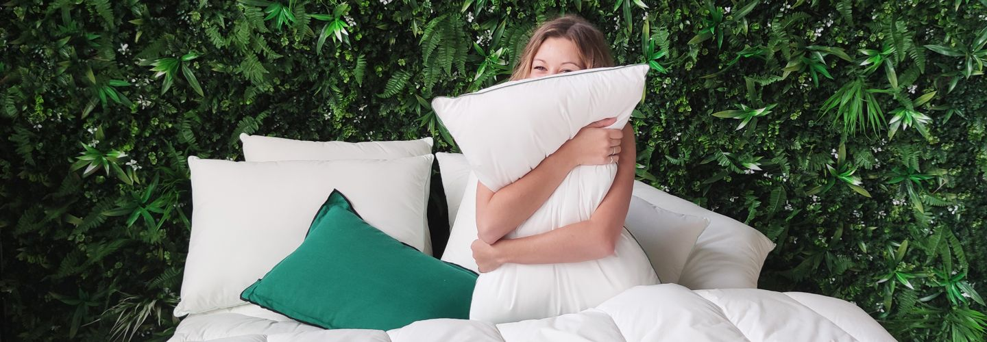 Couette Wake Me Green